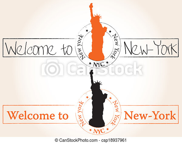 Welcome to New-York - csp18937961