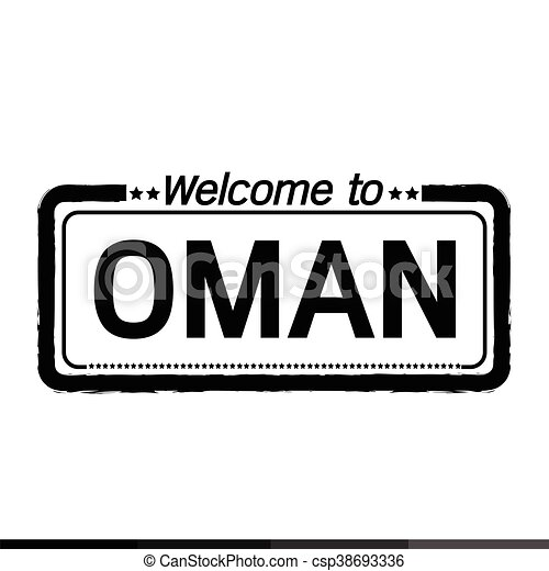 Welcome to OMAN illustration design - csp38693336