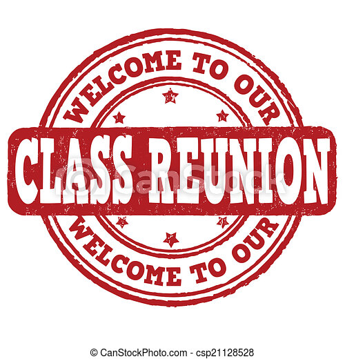 Welcome to our class reunion stamp - csp21128528