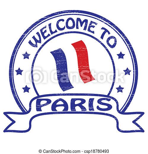 Welcome to Paris - csp18780493