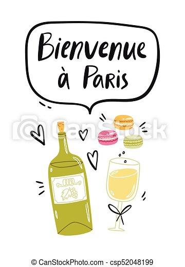 Welcome to Paris - csp52048199