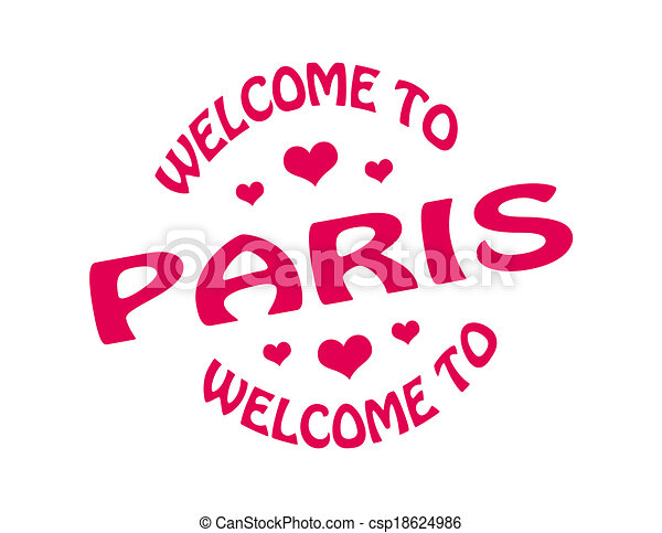 Welcome to Paris - csp18624986