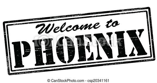 Welcome to Phoenix - csp20341161