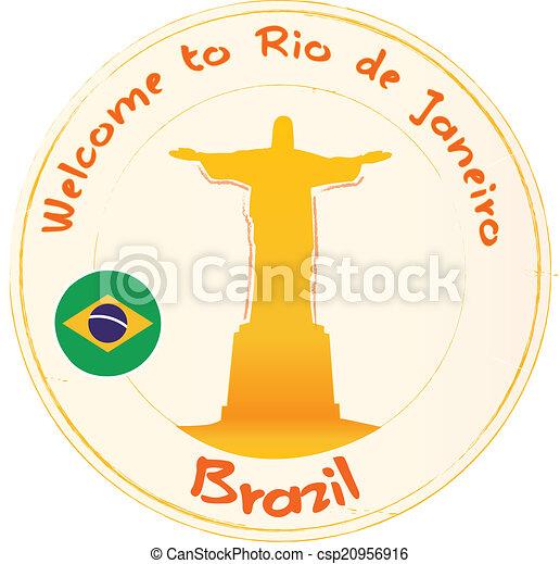 Welcome to Rio Janeiro - csp20956916