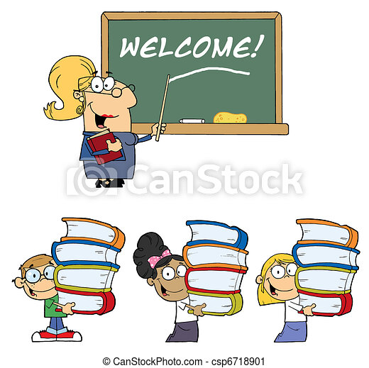 Welcome To School Collection - csp6718901