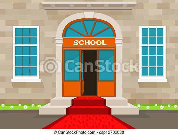 Welcome to school - csp12702038