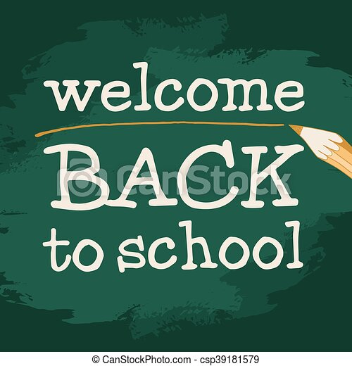 welcome to school - csp39181579