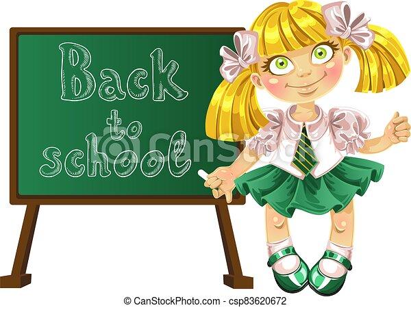 Welcome to school - csp83620672