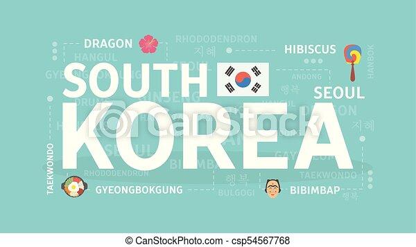 Welcome to South Korea. - csp54567768