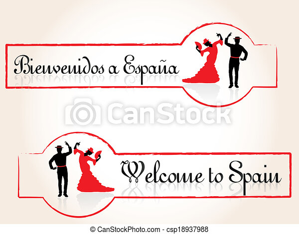 Welcome to Spain - csp18937988