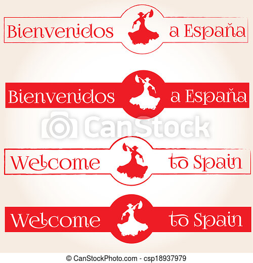Welcome to Spain - csp18937979
