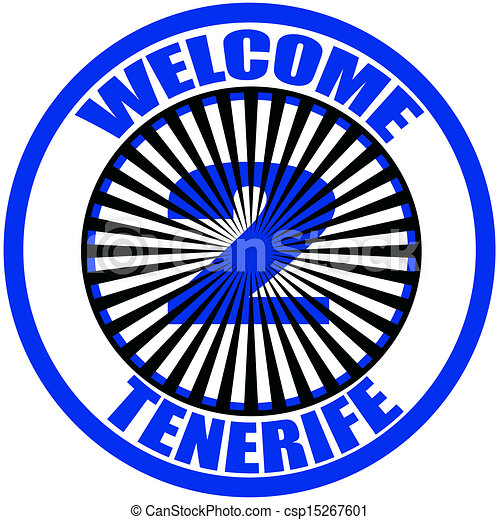 Welcome to Tenerife - csp15267601