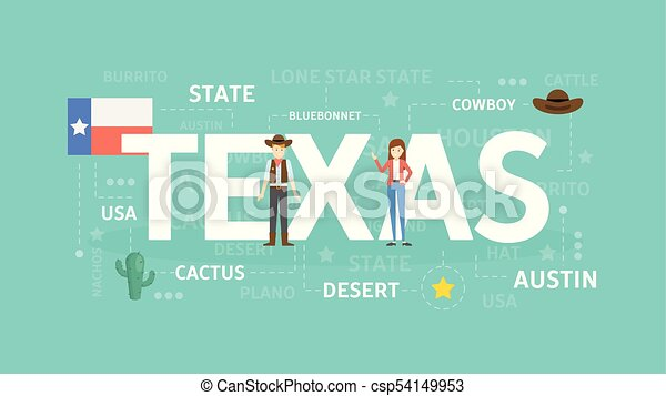 Welcome to Texas. - csp54149953