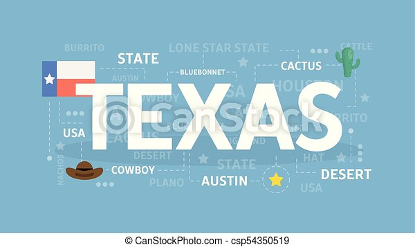 Welcome to Texas. - csp54350519