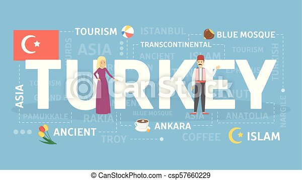 Welcome to Turkey. - csp57660229