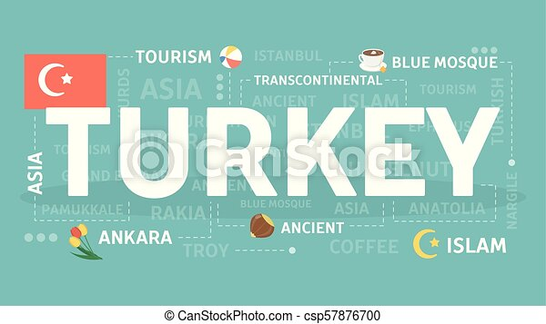 Welcome to Turkey. - csp57876700