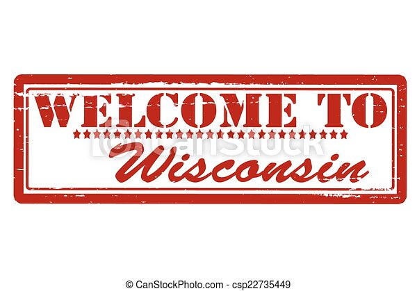 Welcome to Wisconsin - csp22735449