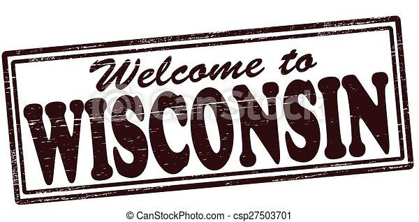 Welcomw to Wisconsin - csp27503701