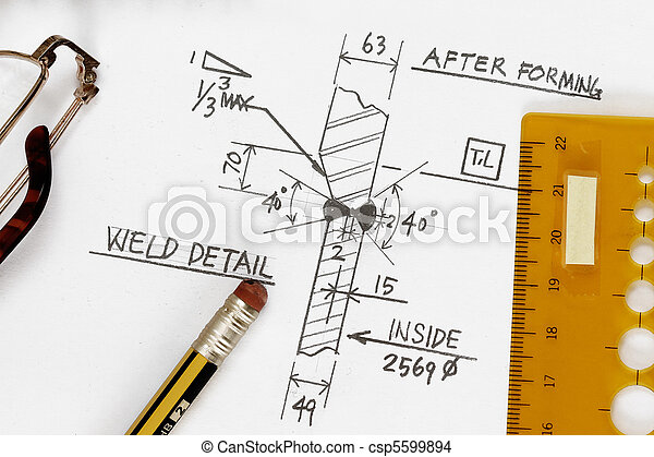 Weld symbol welding symbol detail drawing with pencil and stock weld symbol csp5599894 malvernweather Images