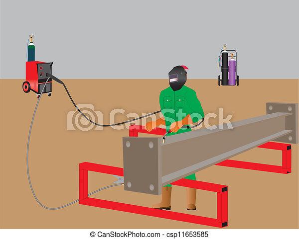 welder - csp11653585