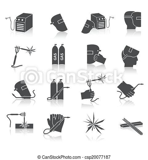 Welder Icons Set - csp20077187