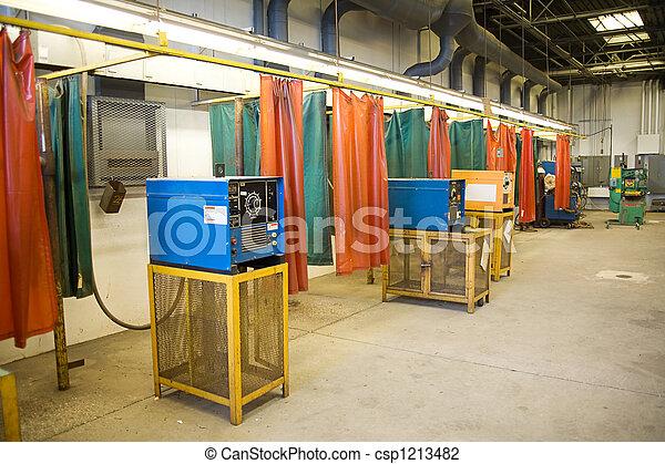 Welding Industrial Backgropund - csp1213482