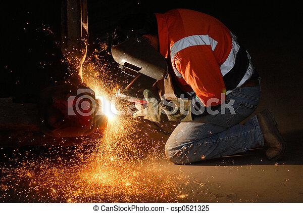 Welding Sparks - csp0521325