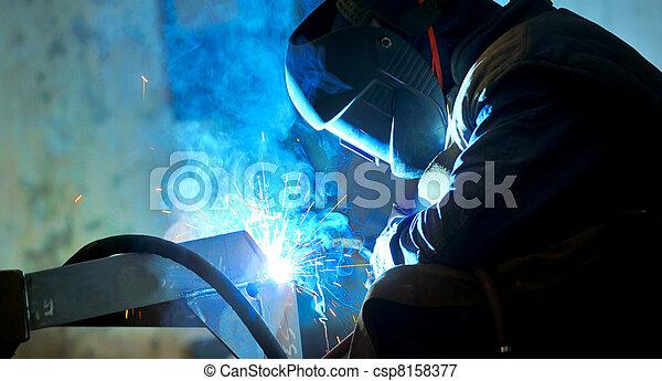 welding with mig-mag method - csp8158377