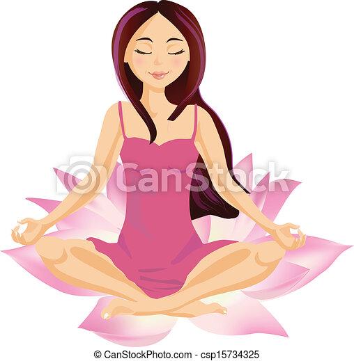 wellbeing, femmina - csp15734325