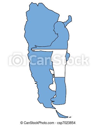 Wellcome to Argentina - csp7023854