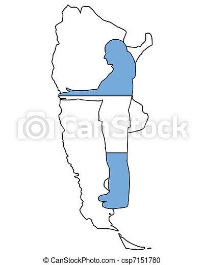 Wellcome to Argentina - csp7151780