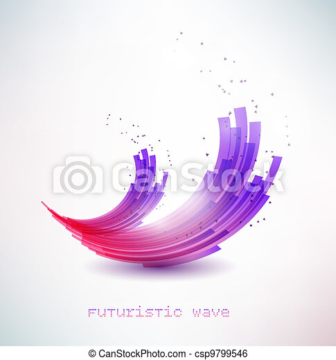 Futuristisches Signal - csp9799546