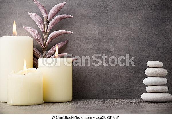 Wellness background  Wellness background. Stones spa treatment scene, zen like... stock ...