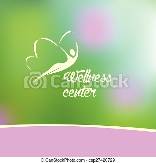 wellness center logo - csp27420729