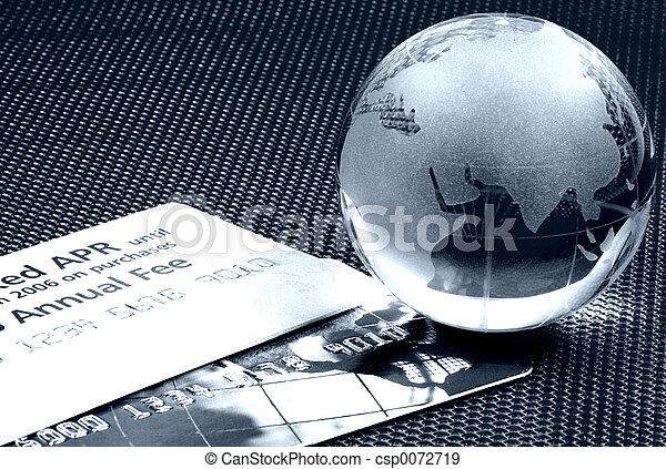 Weltfinanziere zwei - csp0072719
