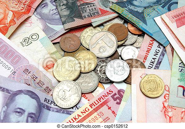 wereld, 2, valuta - csp0152612