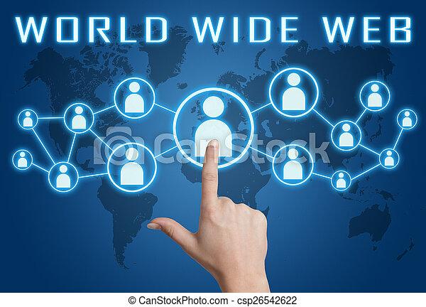 wereld wijd web - csp26542622