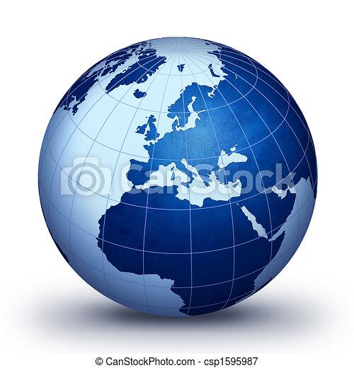 wereldbol - csp1595987