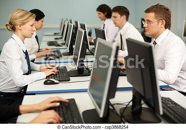 werken, computer - csp3868254