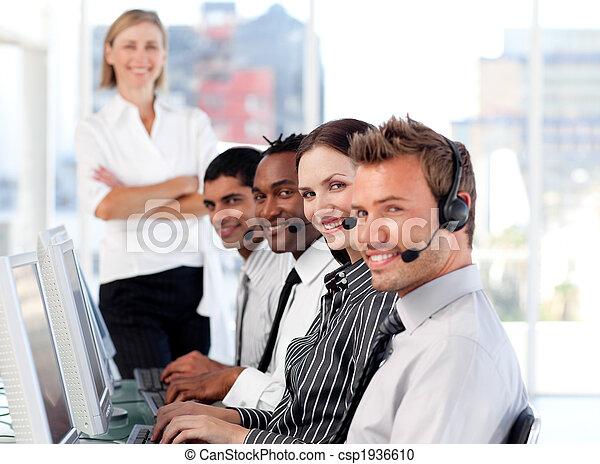 werken, handel team - csp1936610