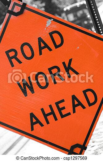 werken, straat, vooruit - csp1297569