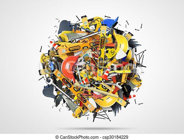 Werkzeuge - csp30184229