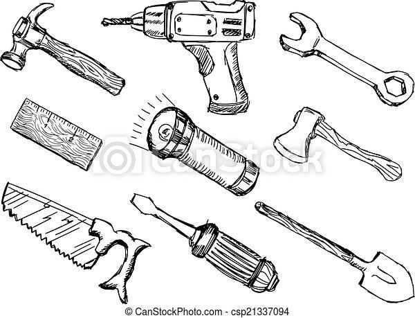 Werkzeuge - csp21337094