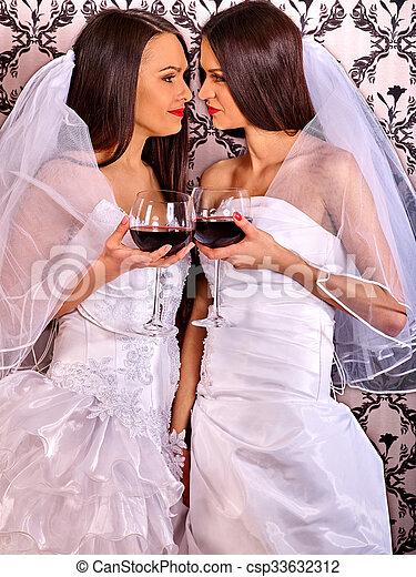 Białe zdjęcia lesbijek