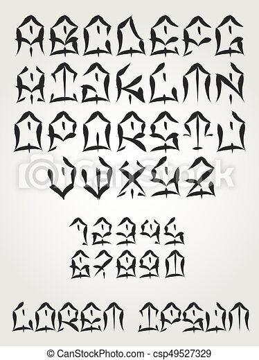 West Coast Graffiti Font