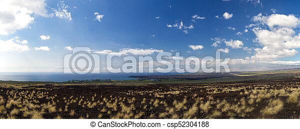 West coast of Big Island, Hawaii - csp52304188
