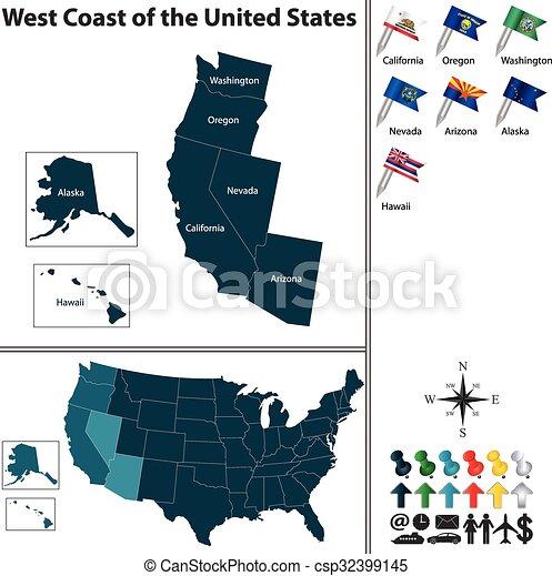 West Coast of the United States