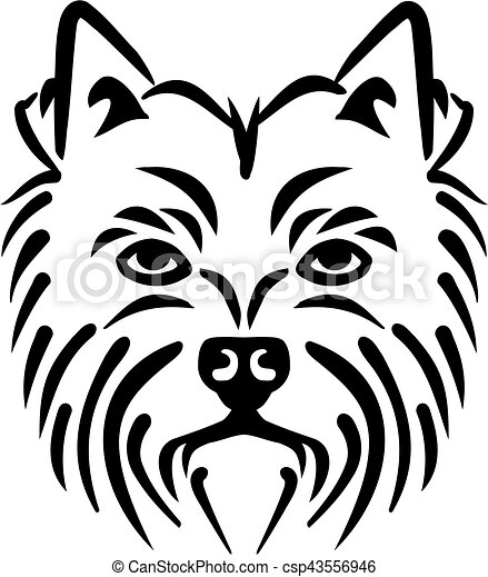 westie clip art and stock illustrations 62 westie eps illustrations rh canstockphoto com Face Clip Art Westies Dog Clip Art