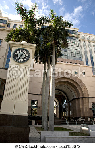 West Palm Beach Courthouse - csp3158672