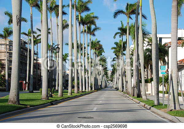 West Palm Beach, Florida, January 2007 - csp2569698